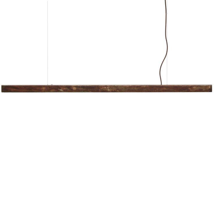 Anour Rusted Steel Strip Pendant Lamp | MQ000068467 | £895.00