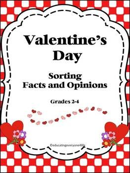 valentine's day trivia worksheet