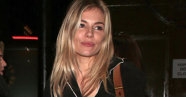 Sienna Miller Just Wore the Comfiest Outfit—and It Looks Expensive Too  ||  Sienna Miller just wore the perfect Sunday outfit — click here to see and shop her look. http://www.whowhatwear.co.uk/sienna-miller-camel-coat?utm_campaign=crowdfire&utm_content=crowdfire&utm_medium=social&utm_source=pinterest