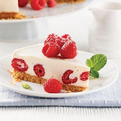 Gâteau au fromage et framboises - Recettes - Cuisine et nutrition - Pratico Pratique