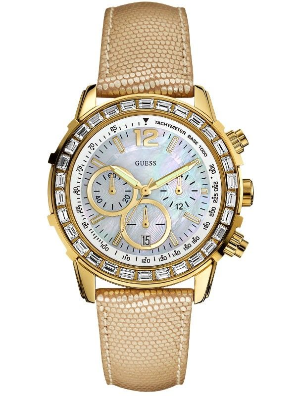 Guess Damenuhr W0017L2 Chronograph