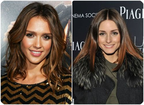 Top 9 Ombre Hairstyles for Back to School reddish brown ombre long bob hairstyle with cheap human hair extensions