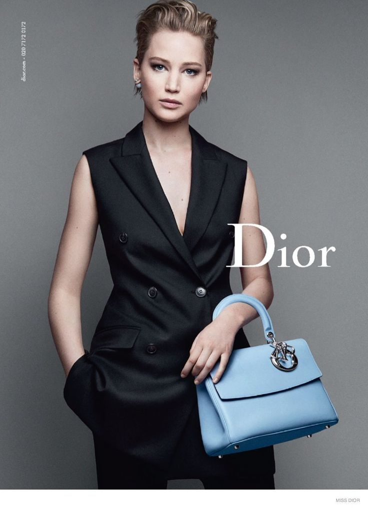 Jennifer Lawrences for Miss Dior