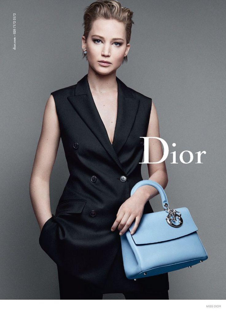 Jennifer Lawrences for Miss Dior