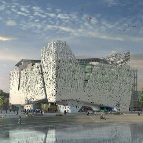 """Italy unveils permanent Milan Expo pavilion that will """"purify the atmosphere from smog"""""""