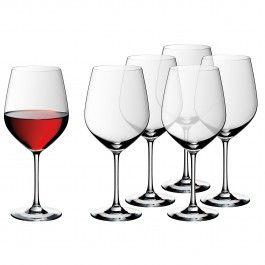 WMF Burgundy Glass