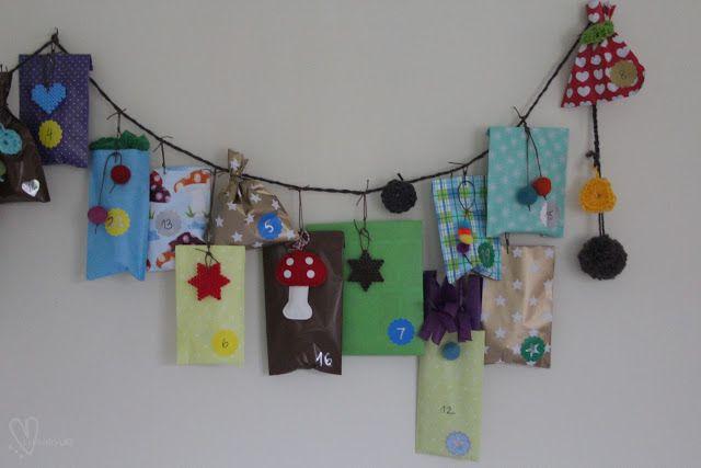 Lykkefryd: {gjør det selv} Julekalender - del 2 advent calendar