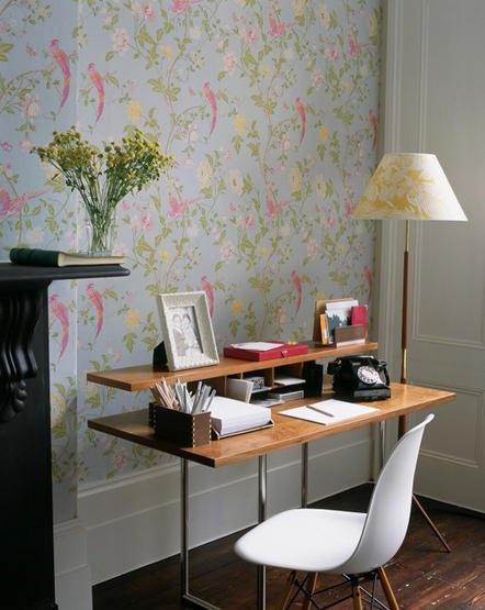 Desk Idea Laura Ashley Wallpaper