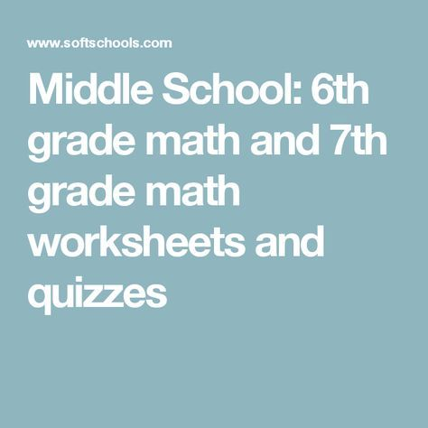17 Best ideas about Grade 6 Math Worksheets on Pinterest | Math 4 ...
