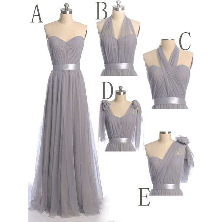 Best 25+ Grey bridesmaid long ideas on Pinterest