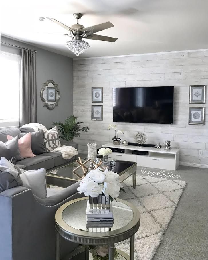 Update Your Walls With Ease With Our Barnwood 2 Go Homedecor Woodwall Accen Apartment Living Room Design Living Room Decor Apartment Farm House Living Room
