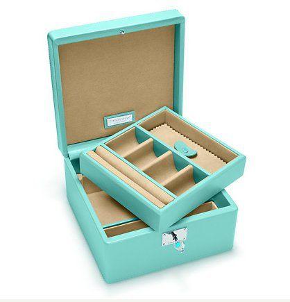 Tiffany Jewelry Box to keep all the blinginess