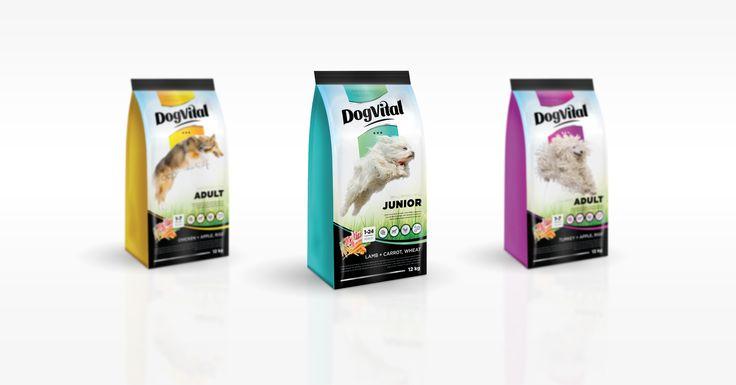 Dog Vital | k2o.hu #csomagolástervezés #packagedesign  #package