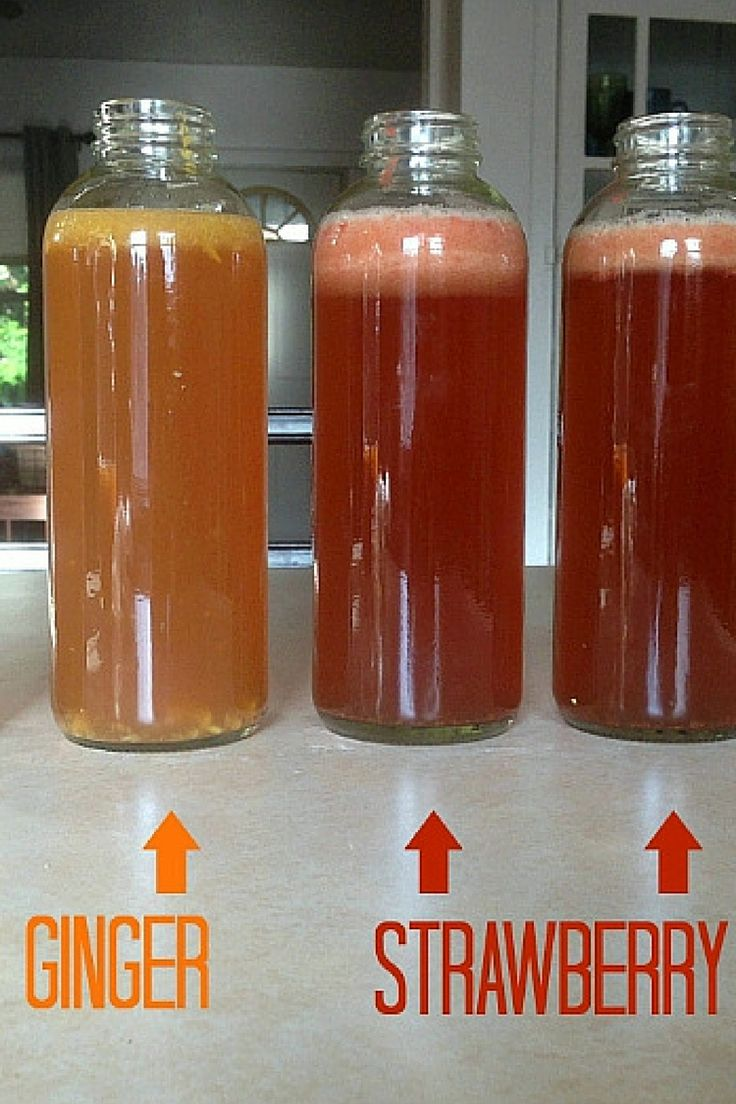 How to flavor homemade kombucha with fruite - I've come up with two delicious kombucha flavor recipes - Mango Ginger and Strawberry Pineapple. All natural!