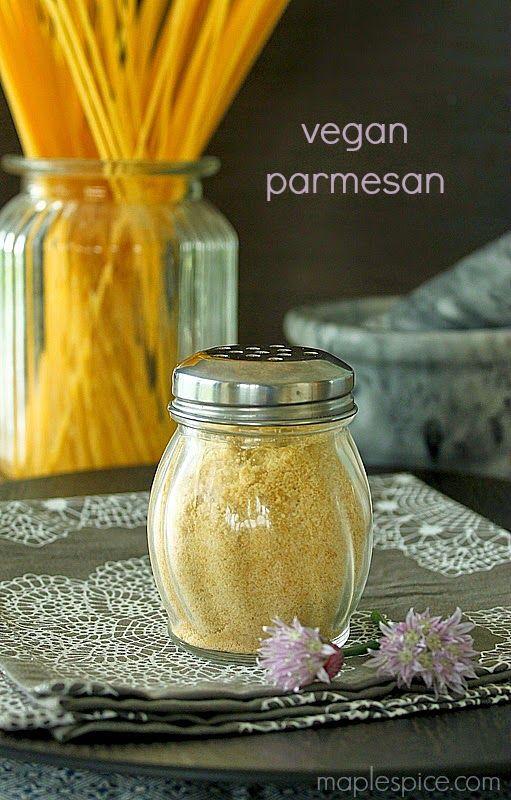 3 Ingredient Vegan Parmesan - no food processor or blender needed!