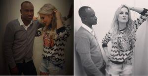 Claudia Leitte termina de gravar o clipe de 'Quer Saber' com Thiaguinho - Veja fotos dos bastidores da gravação do clipe 'Quer Saber', de Claudia Leitte com Thiaguinho