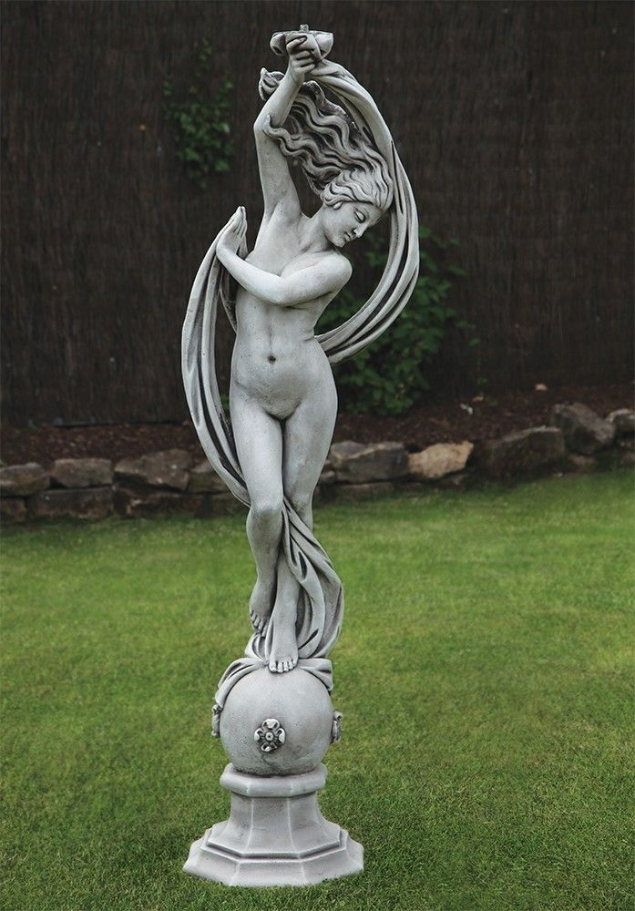 Exotic Dancer Nude Stone Sculpture - Large Garden Statue. Buy now at http://www.statuesandsculptures.co.uk/large-garden-statues-exotic-dancer-nude-stone-sculpture