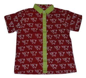 Kemeja Batik Anak Abhinaya K-134A