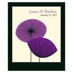Wedding Stickers - Wedding Labels - Romantic Elegance Sticker Labels - LARGE (2 Shapes - 5 Colors)