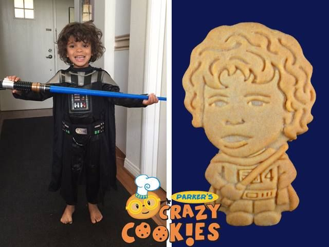 For the happiest four year old, order custom cookies from Parker's Crazy Cookies for his birthday party. We personalize our cookies using beautifully designed artwork, not thick, sugary icing. They are low in sugar...high in fun!