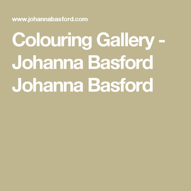 The 246 Best Johanna Basford Images On Pinterest