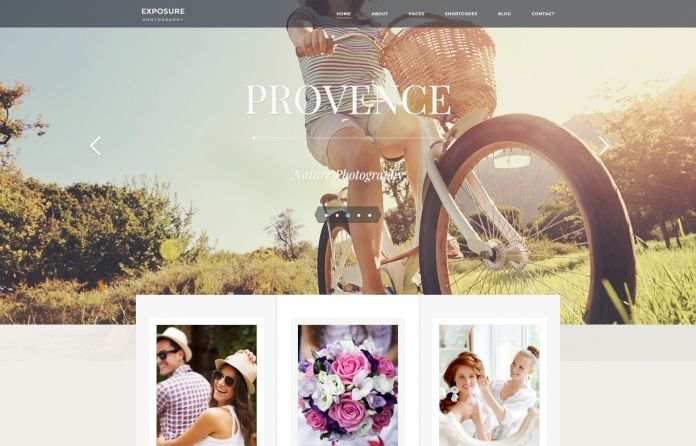 Exposure - responsive #photography #WordPress #theme that has all it takes for professional #photographers.