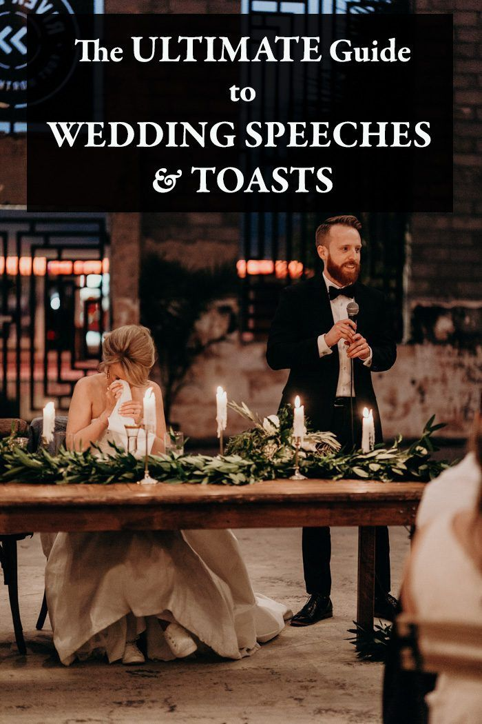 The Ultimate Guide To Wedding Speeches And Toasts Junebug Weddings Wedding Speech Best Wedding Speeches Wedding Toast Examples
