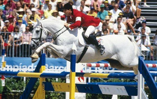Les chevaux de sports - Milton - Milton et John Whitaker en compétition