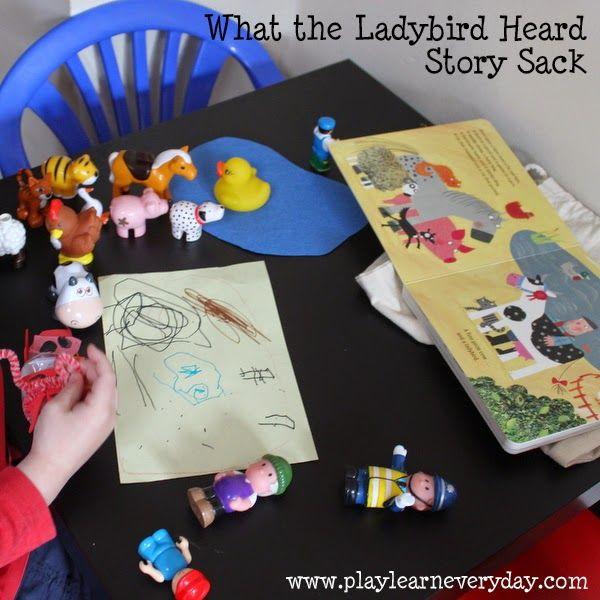 What the Ladybird Heard Story Sack