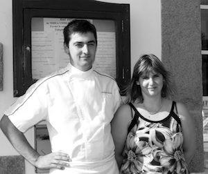 Philippe et Christelle Haond, de l'hôtel-restaurant Le Relais des Primeurs à Taulé près de #Carantec #Morlaix #Bretagne #Brittany #Finistere