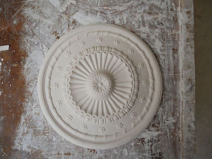How to make a ceiling rose,   This and more plaster mouldings skills a…
