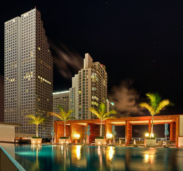 Cabanas by the pool miami florida usa this is another for Pool show usa