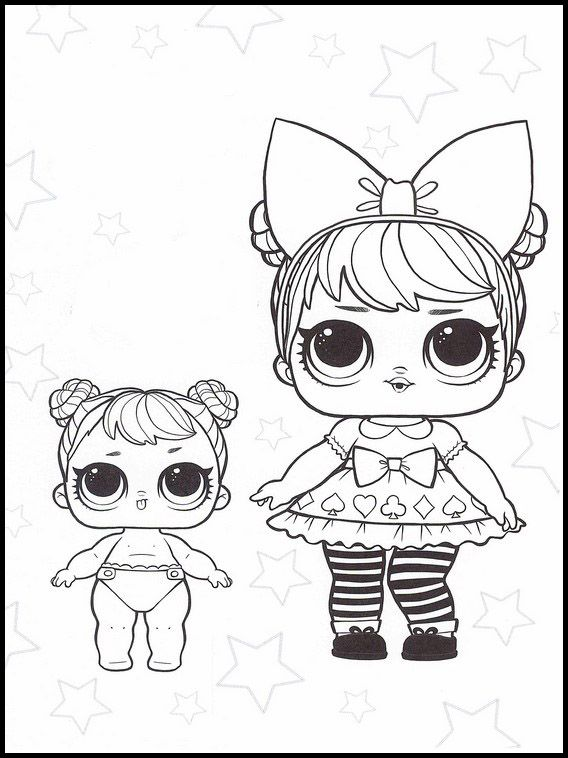 lol surprise 14 printable coloring pages for kids  lol