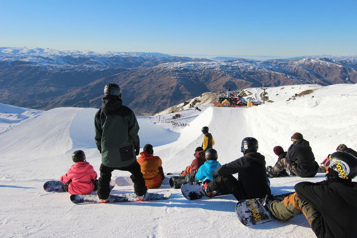 Cardrona is the home to Southern Hemisphere's only Olympic sized super pipe.. Fun guaranteed! #cardronaparks #snowboarding #skiing #nz
