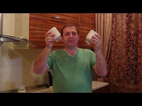 Как сделать кефир и ряженку в домашних условиях. - YouTube