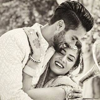 How extremely cute is this! Shahid Kapoor wishing his wife Mira Rajput Kapoor a happy birthday, by sharing this beautiful picture of their wedding.