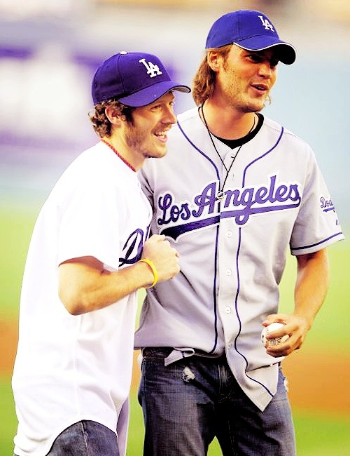 Two of my favs, obviously. Taylor Kitsch and Zach Gilford