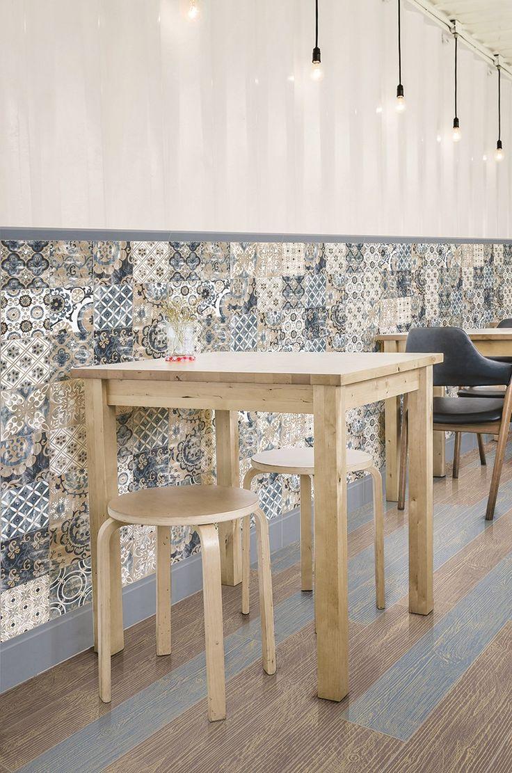 Revestimento de pisos/paredes ORTIGIA 15x15 by Unica by Target group