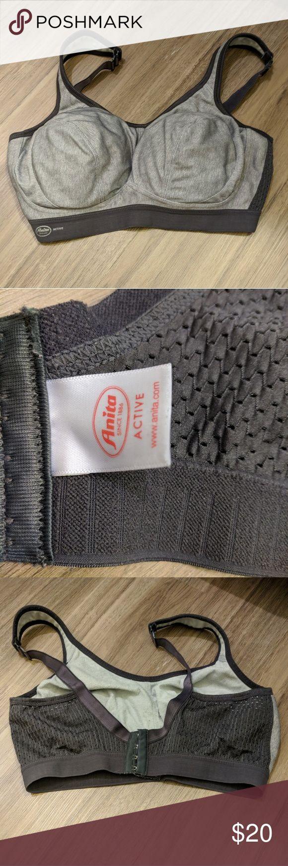 Anita Active Sports Bra Anita Active Sports Bra. Adjustable straps. Size 40 D. Anita Intimates & Sleepwear Bras