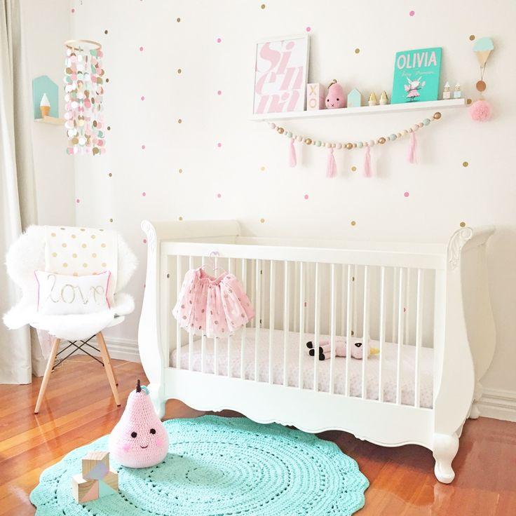 Interior Blog | Nursery room tour #nursery#kinderkamer#barnrum