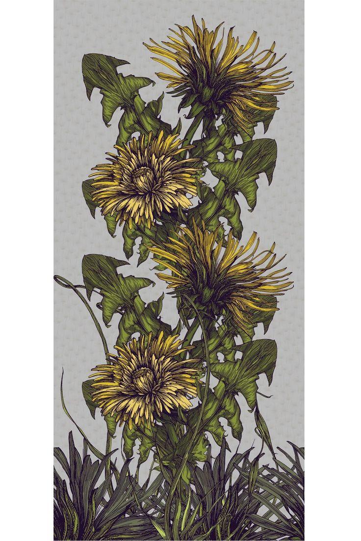 Timorous Beasties Fabric - Dandelion