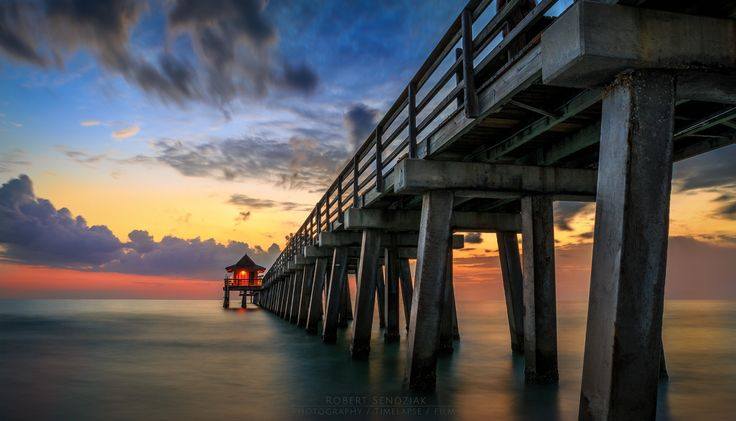 Best of http://Shootcamp.at - Naples Pier © Robert Sendziak