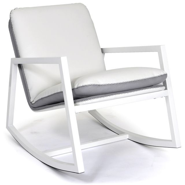 31 best images about une maison toute blanche on pinterest - Rocking chair blanc pas cher ...