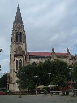 A Nagyboldogasszony római katolikus templom  Módos