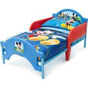 Disney Mickey Mouse Toddler Bed & Bedding Bundle Disney, Toddler Bedding and Furniture $149.99 http://www.amazon.com/dp/B00FP6UJT6/ref=cm_sw_r_pi_dp_MG6.sb1G3KY6MMPN