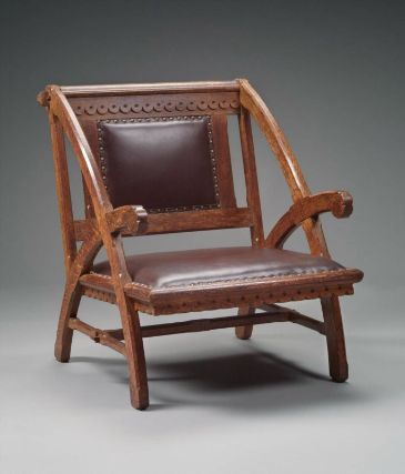 Armchair For The Woburn Public Library, Designed By Henry Hobson Richardson  And Possibly Manufactured At