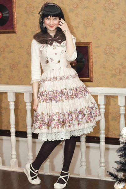 Summer Fashion style Lolita des femmes de coule... HVDOj