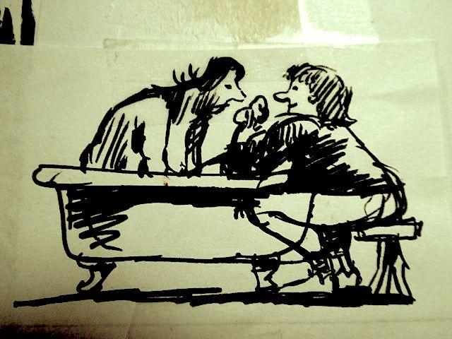 Sketche - Sarah takes care P Durand