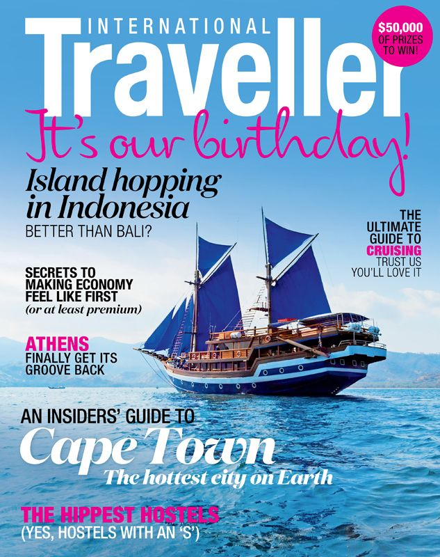 Issue 12 of International Traveller magazine, featuring our cruising special.