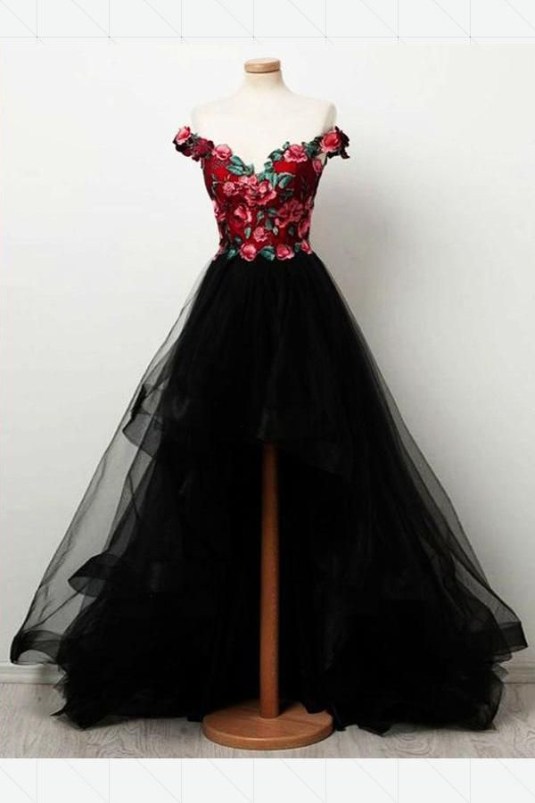 Discount Beautiful Red Prom Dresses, Prom Dresses Vintage, Long Prom Dresses, Prom Dresses Black